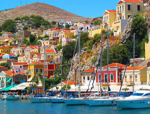 Nearby Island Special – visit the island Symi