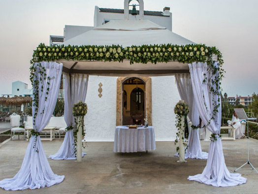 A Dazzling Wedding Ceremony in Kos