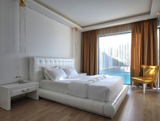 All about the Suites of the Kos Diamond Deluxe Hotel